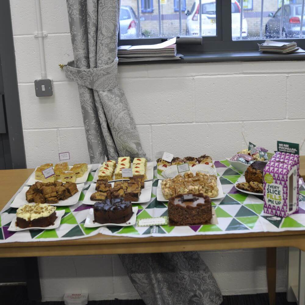 Macmillan Coffee Morning Cakes