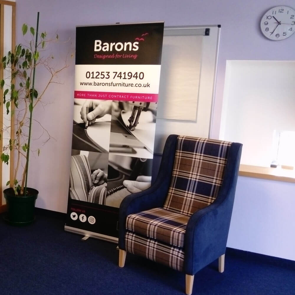 Barons Contract Furniture at Stirling Event