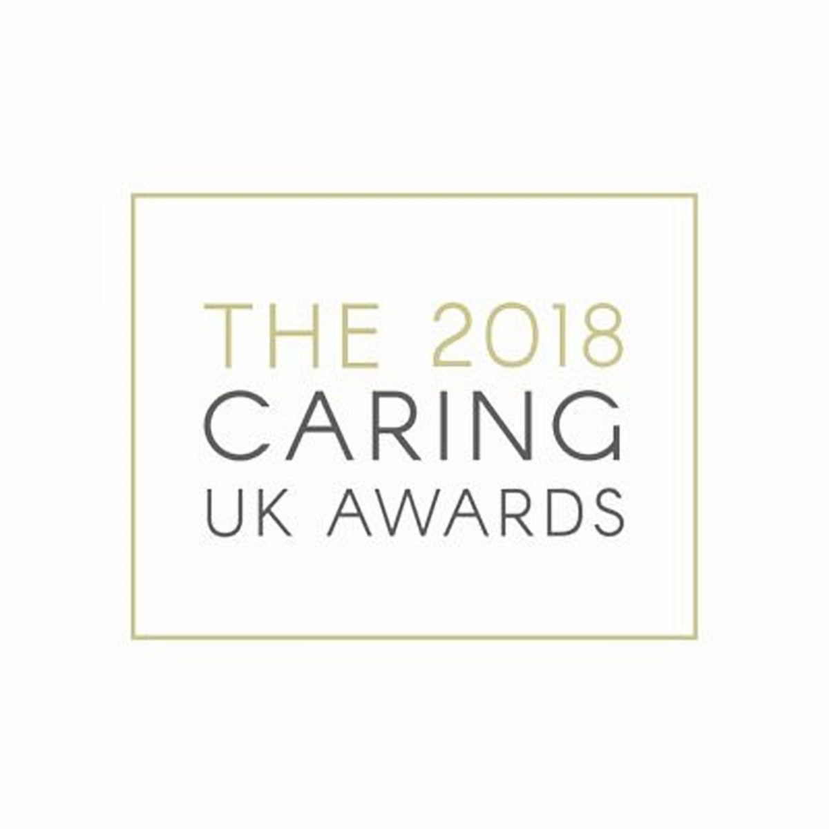Caring UK Awards 2018 winners