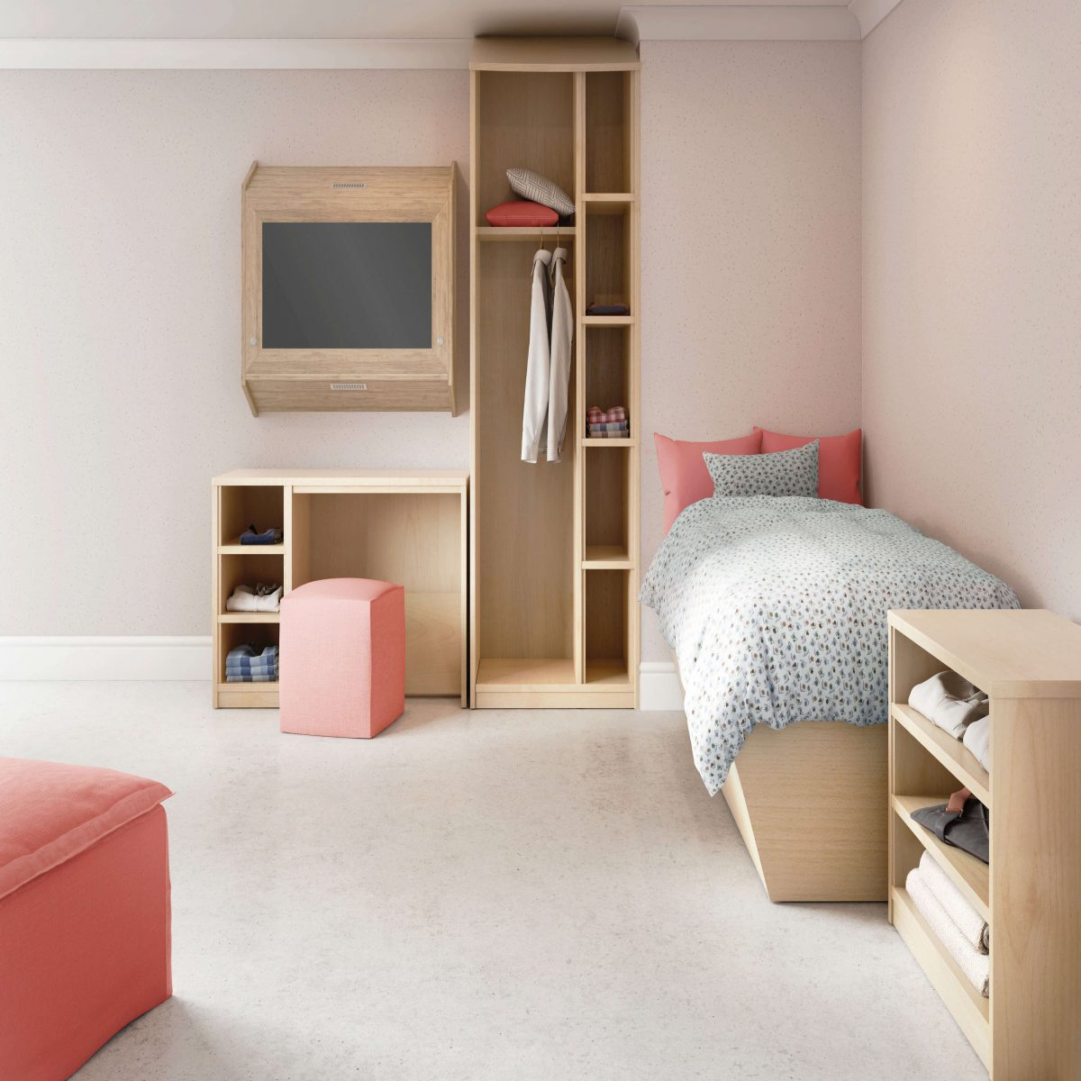 HDU furniture from the Challenging Behaviour Range by Barons.