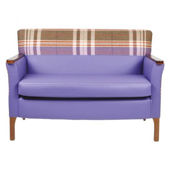 Moda Mid Back 2 Seater Sofa