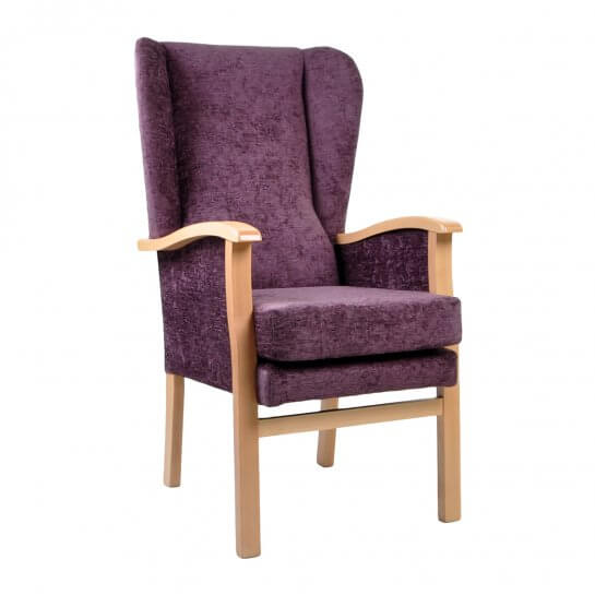 Fairhaven Chair with Closed Sides