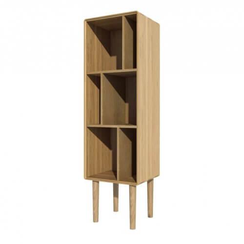 Norway Narrow Bookcase